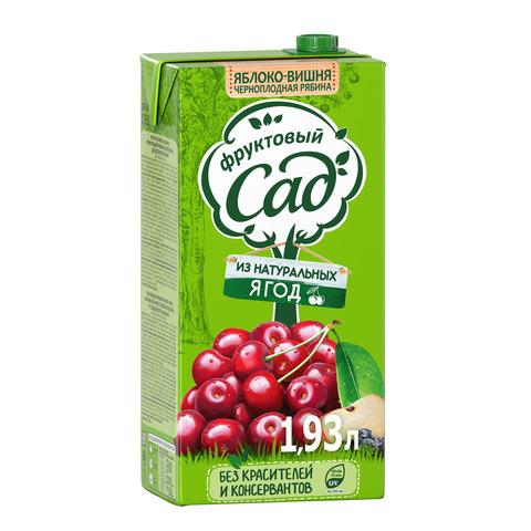 Сок фруктовый сад яблоко-вишня МИНИМАРКЕТ