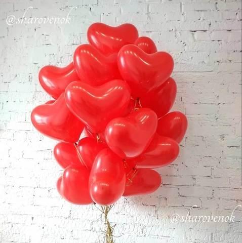 Шары в форме сердца 30 см