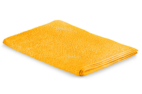 Простынь махровая (Желтый)