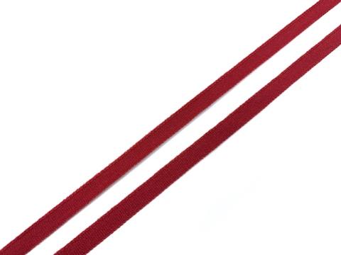 Резинка отделочная темно-красная 7 мм, кант (цв. 101)