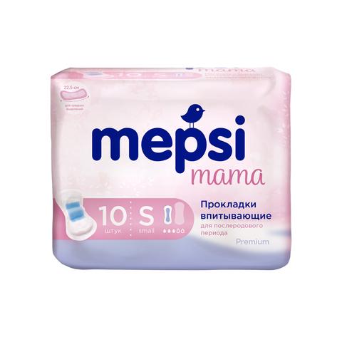 Прокладки гигиенические впитывающие послеродовые Mepsi, размер S