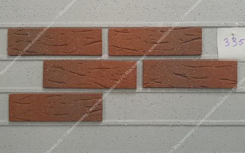 Feldhaus Klinker - R335NF9, Classic Carmesi Antic Mana, 240x9x71 - Клинкерная плитка для фасада и внутренней отделки