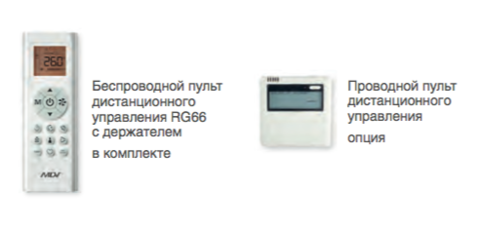 Сплит-система MDV MDSAF-24HRN1  /  MDOAF-24HN1