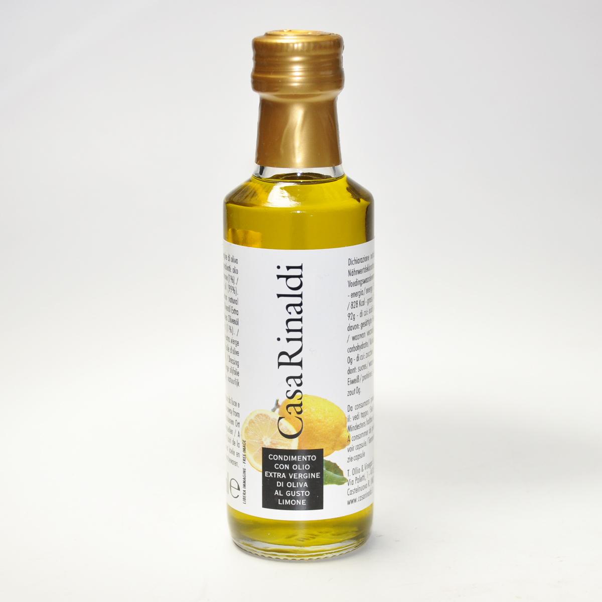 Масло оливковое EV  с лимоном