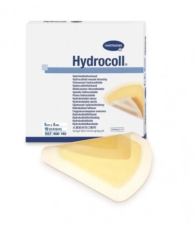 Гидроколл (Hydrocoll)- самофиксирующиеся гидроколлоидные повязки, 5 х 5 см
