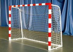 Ворота мини-футбол/гандбол 2х3м красно-белые (пара).