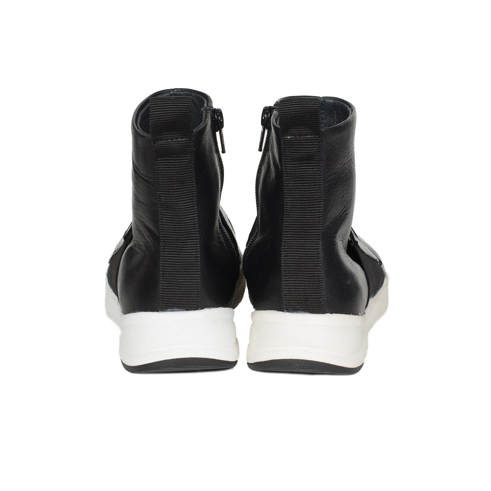 Кроссовки женские, Ballerina, LOGO (черный)
