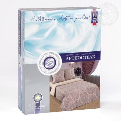 Комплект постельного белья Рафаэль DE LUXE с простынью на резинке