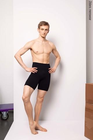 Biker shorts | black