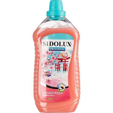 Средство для мытья пола Lakma Sidolux Universal Цвет японской вишни 1 л