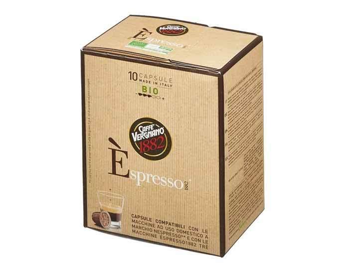 Caffe Vergnano 1882 Espresso Bio 100% Arabica