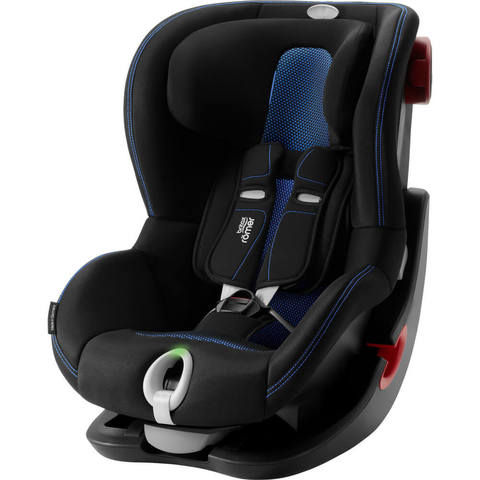 Автокресло Britax Roemer King II LS Cool Flow Blue
