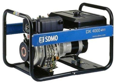 Кожух для дизельного генератора SDMO DX4000E (3400 Вт)
