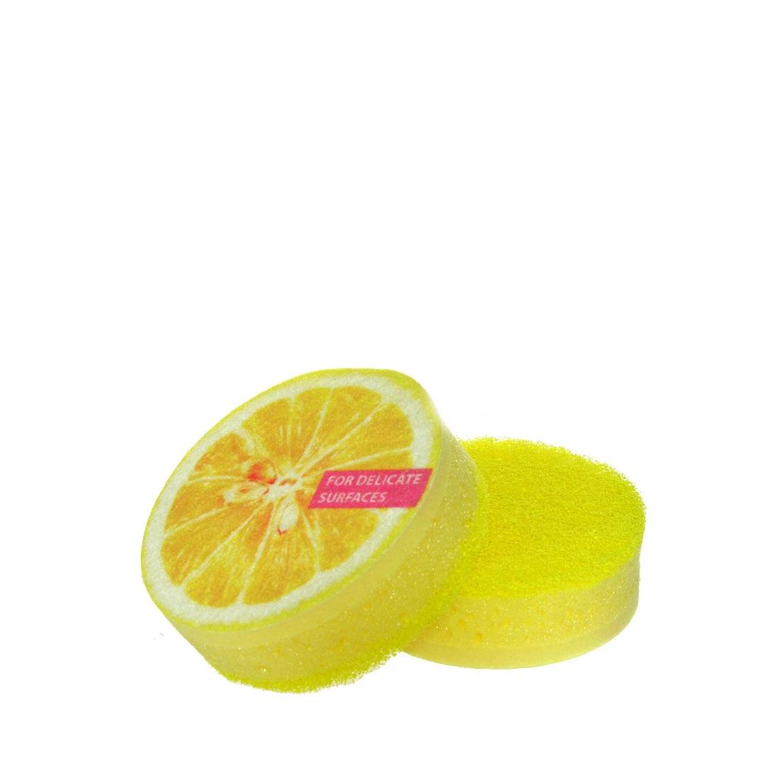 Губки для посуды York Aрома лимон 2шт