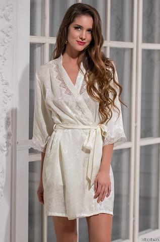 Халат женский натуральный шелк MIA-Amore NIKA  НИКА 3173