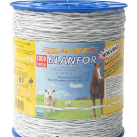 Провод электропастуха Blanfor 1000 м (3мм)