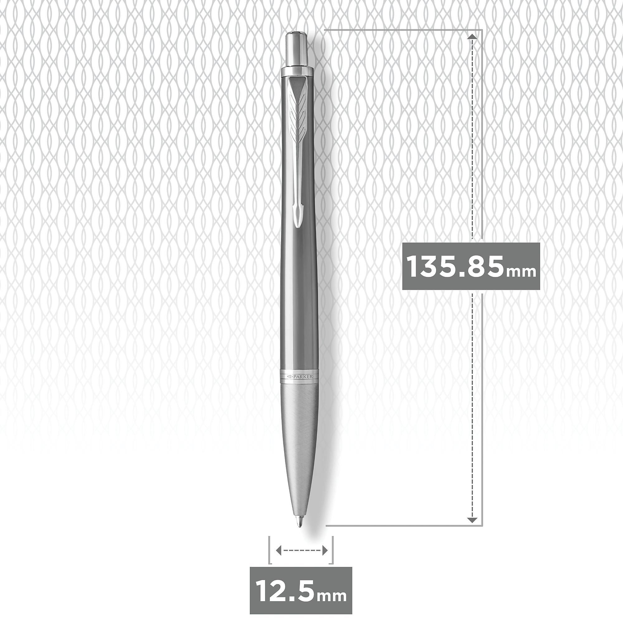 Шариковая ручка Parker Urban Premium Silvered Powder CT (1931578)