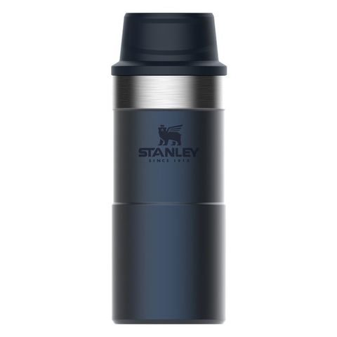 Термокружка Stanley The Trigger-Action Travel Mug (10-06440-017) 0.35л синий