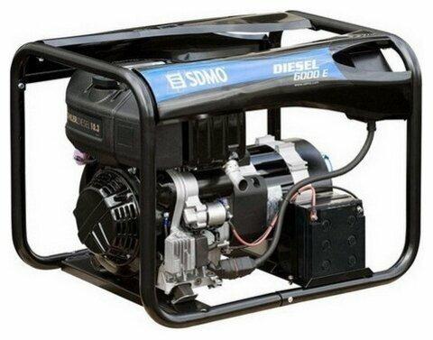 Кожух для дизельной электростанции SDMO Diesel 6000 E