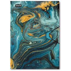 Папка на резинках Attache Selection, Fluid,синяя