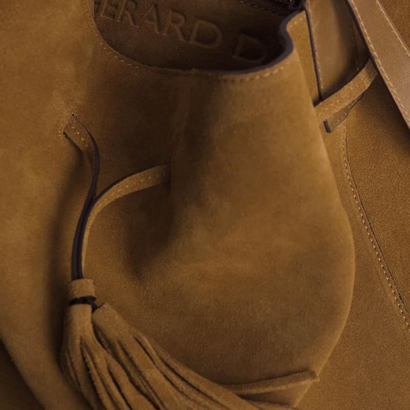 LE SAXO - Сумка-торба из замши