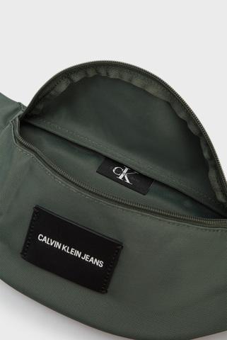 Мужская зеленая поясная сумка WAISTBAG Calvin Klein