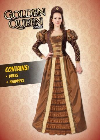 Костюм Золотая Королева