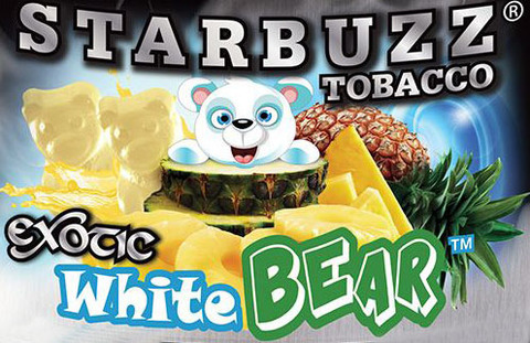Starbuzz White Bear 50 грамм