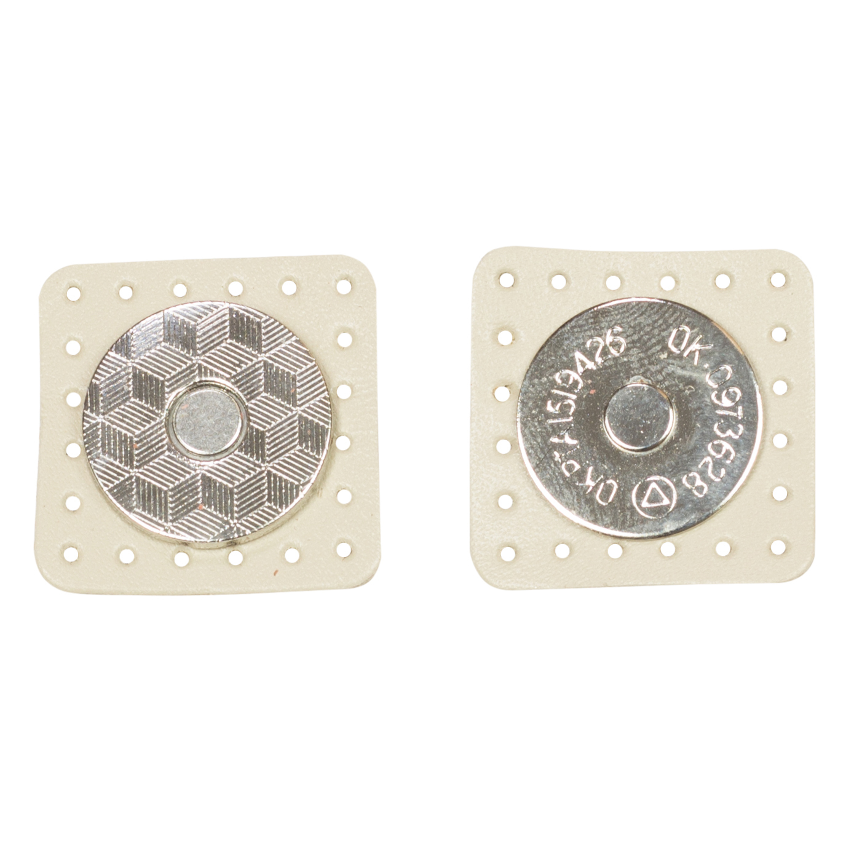 Вся фурнитура Застежка магнитная на кожаной основе Кремовая IMG_2745.jpg