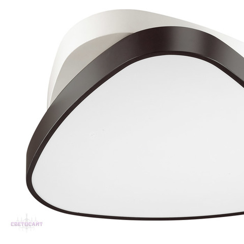 Люстра потолочная светодиодная с пультом 4510/72CL серии AGATHA