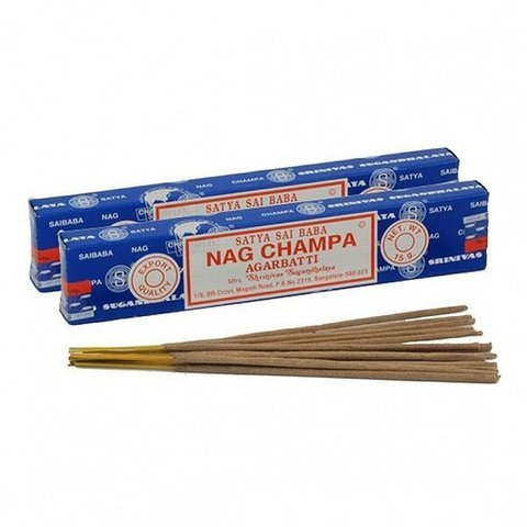 Благовония Satya Nag Champa -Наг Чампа, 15 гр