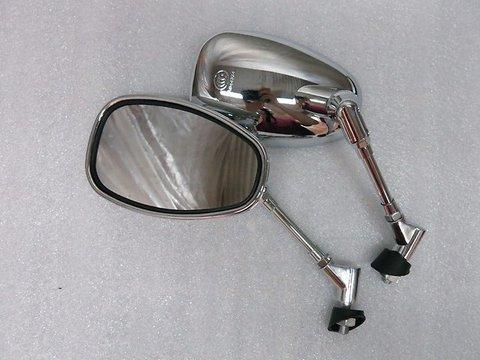 Зеркала Л-П Хром Yamaha XJR 400 XJR 1200 XJR 1300 V-MAX 1200