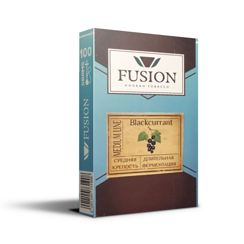 Табак Fusion Medium Blackurrant 100 г