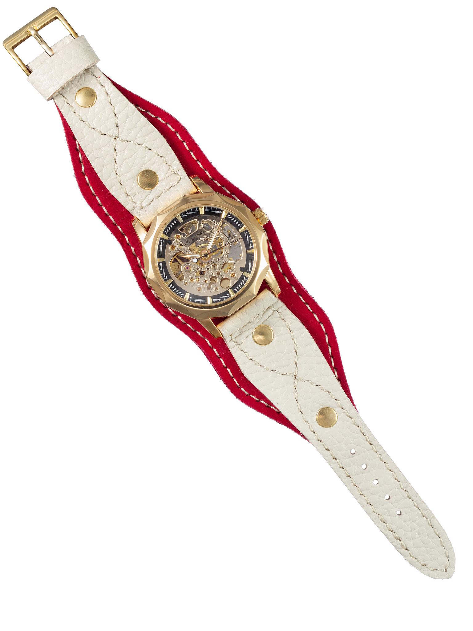 Часы скелетоны женские механические Regal YOURTIME