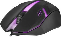 Игровая мышь RGB проводная  X3 Cyber, черный