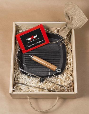 Подарочный набор для приготовления стейка MINI-GRILL