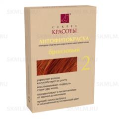 Краска для волос цвет Бронзовый, 30 гр.