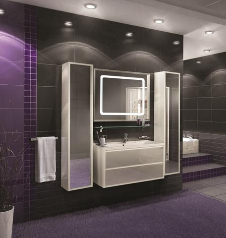 Мебель для ванной Акватон Римини 100, белая, 99,7*х50з44,5см.