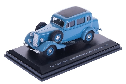 GAZ-M1-MG gasification blue 1:43 Nash Avtoprom