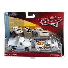 Maşın Disney/Pixar Cars Race Starter & Pace Car Vehicle, 2 ədəd ağ