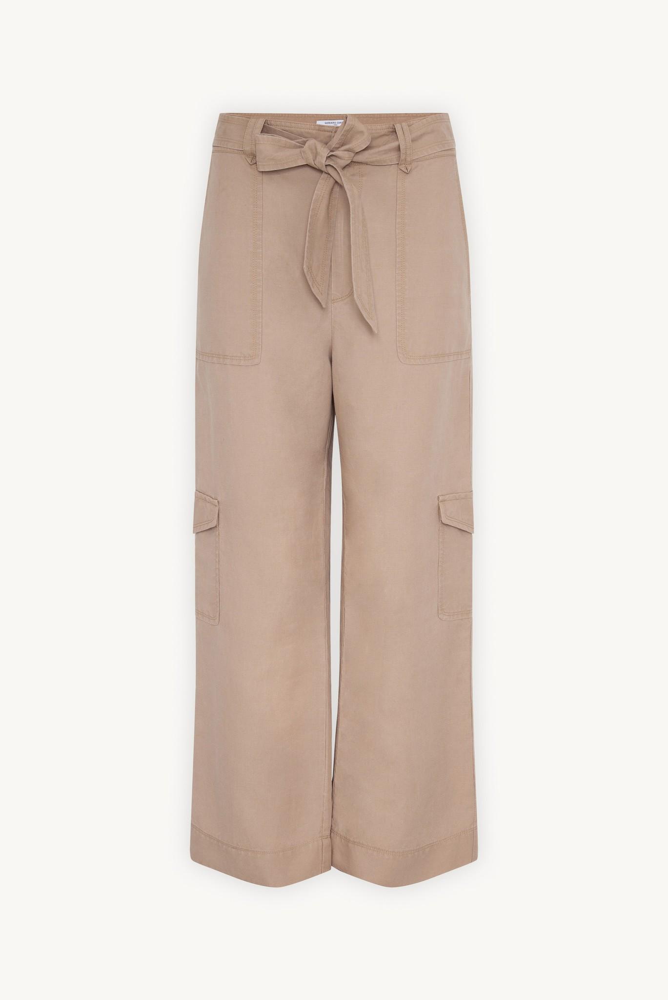 MAURA - брюки-карго изо льна