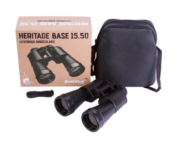 Бинокль Levenhuk Heritage BASE 15x50 - фото 2