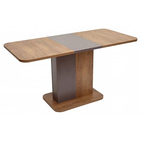 Стол NEXT Дуб Канзас/ Вольфрам 110 / 110(145)х69см