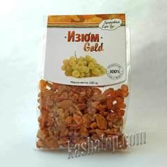 Изюм 'Gold' 'Здоровая еда', 100г