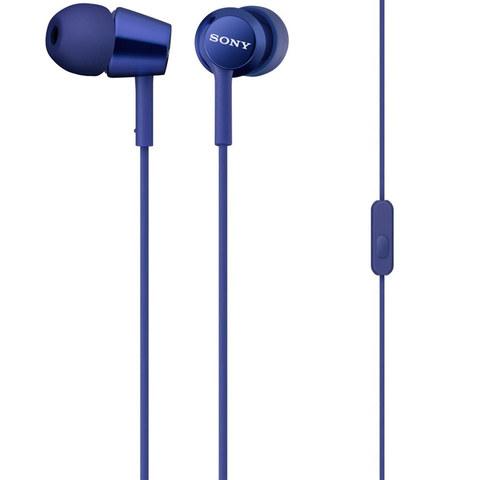 MDR-EX150AP L наушники Sony с микрофоном, синий