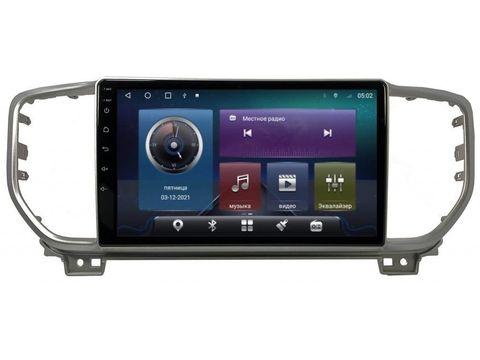 Магнитола для Kia Sportage (2019+) Android 10 4/64GB IPS DSP 4G модель СB2043TS10