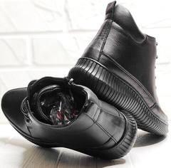 Демисезонные ботинки женские черные Evromoda 535-2010 S.A. Black.