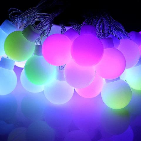 LED шары большие светодиодная гирлянда