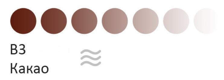 Пигмент для татуажа бровей Tinel В3 Какао