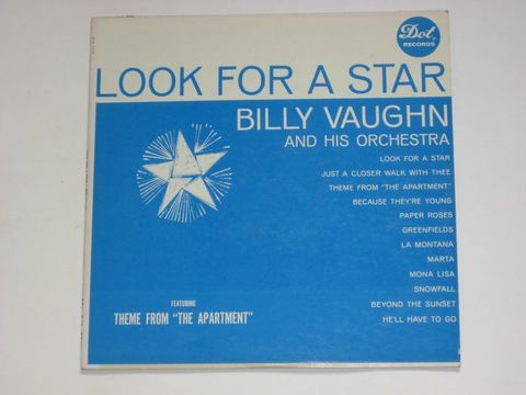Billy Vaughn And His Orchestra / Look For A Star (LP)